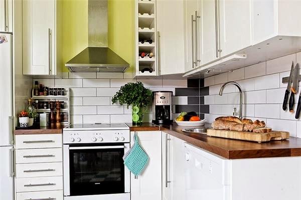 Membuat Dapur Mungil Terlihat Lebih Luas