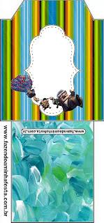 Up Pixar Movie: Free Party Printables.