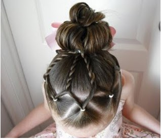 Excellent Easy Hairdos For Little Girl Triple Weft Hair Extensions Hairstyles For Men Maxibearus