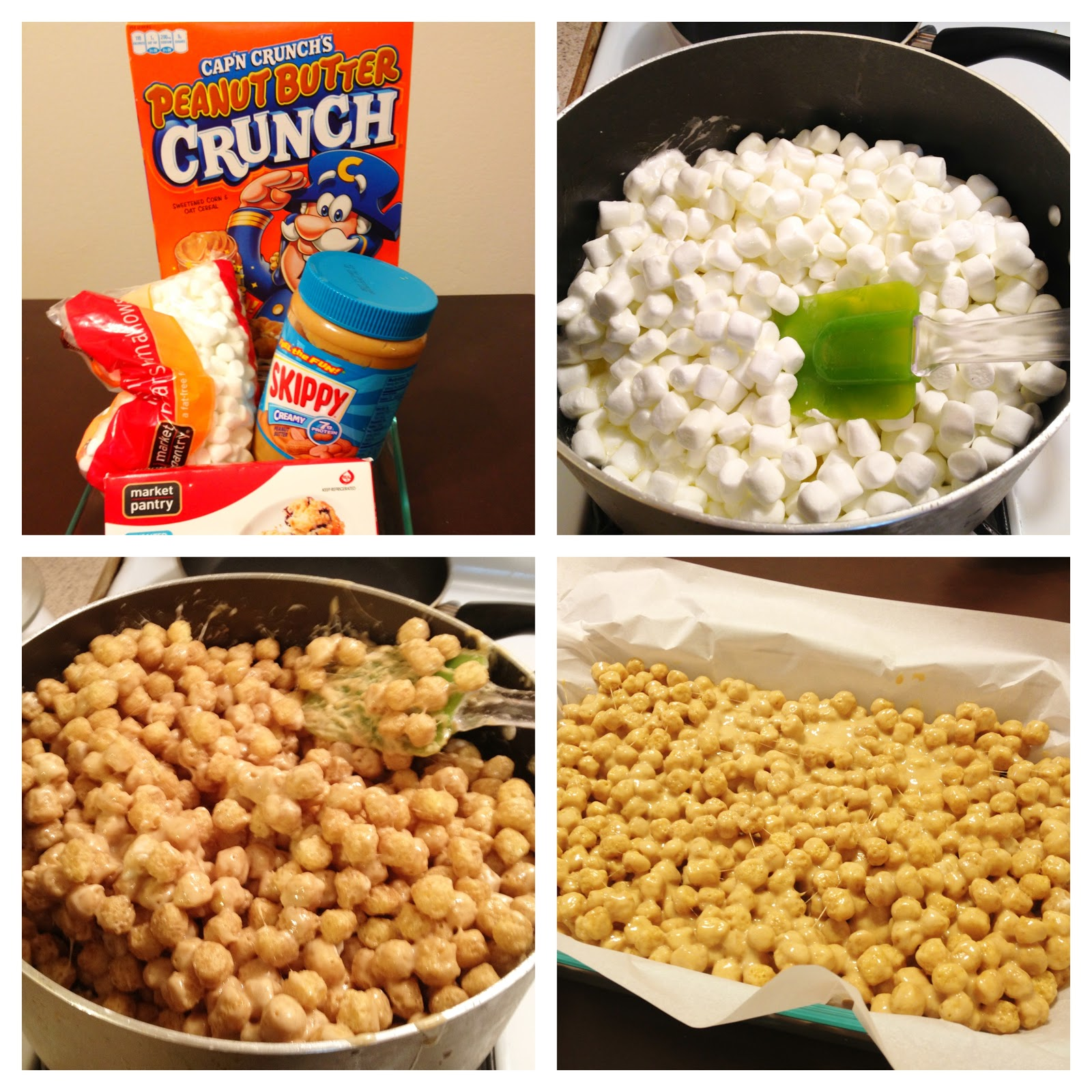 Chronicles Of A Foodie: Peanut Butter Captain Crunch Treats