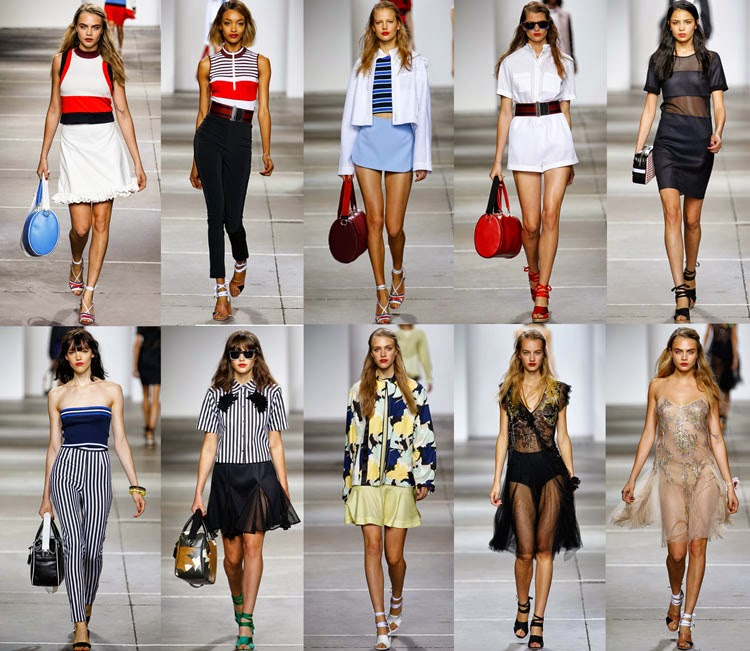 Topshop Unique SS15 Runway Picture