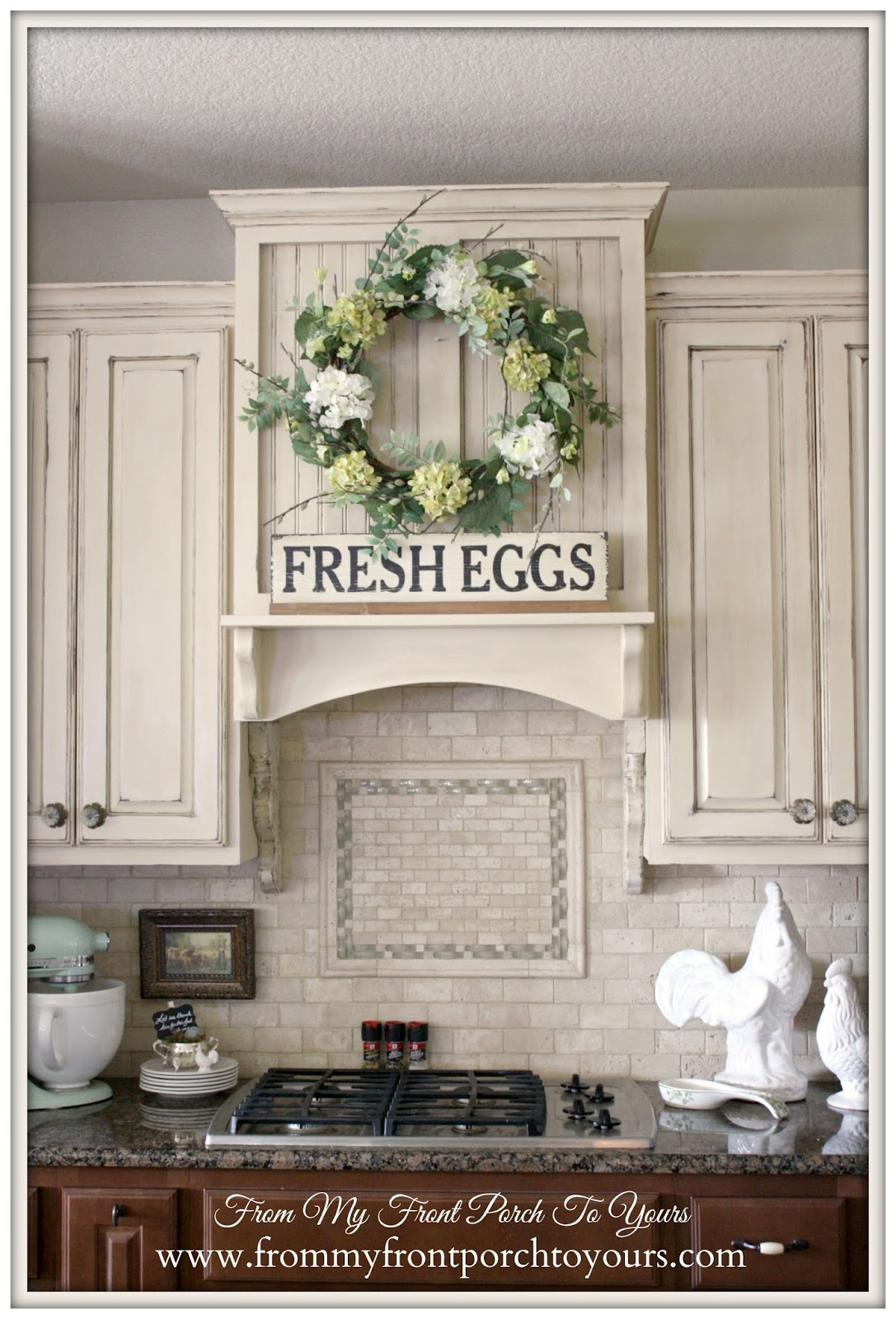 Anne Sloan Old Ochre-French Farmhouse Kitchen- From My Front Porch To Yours