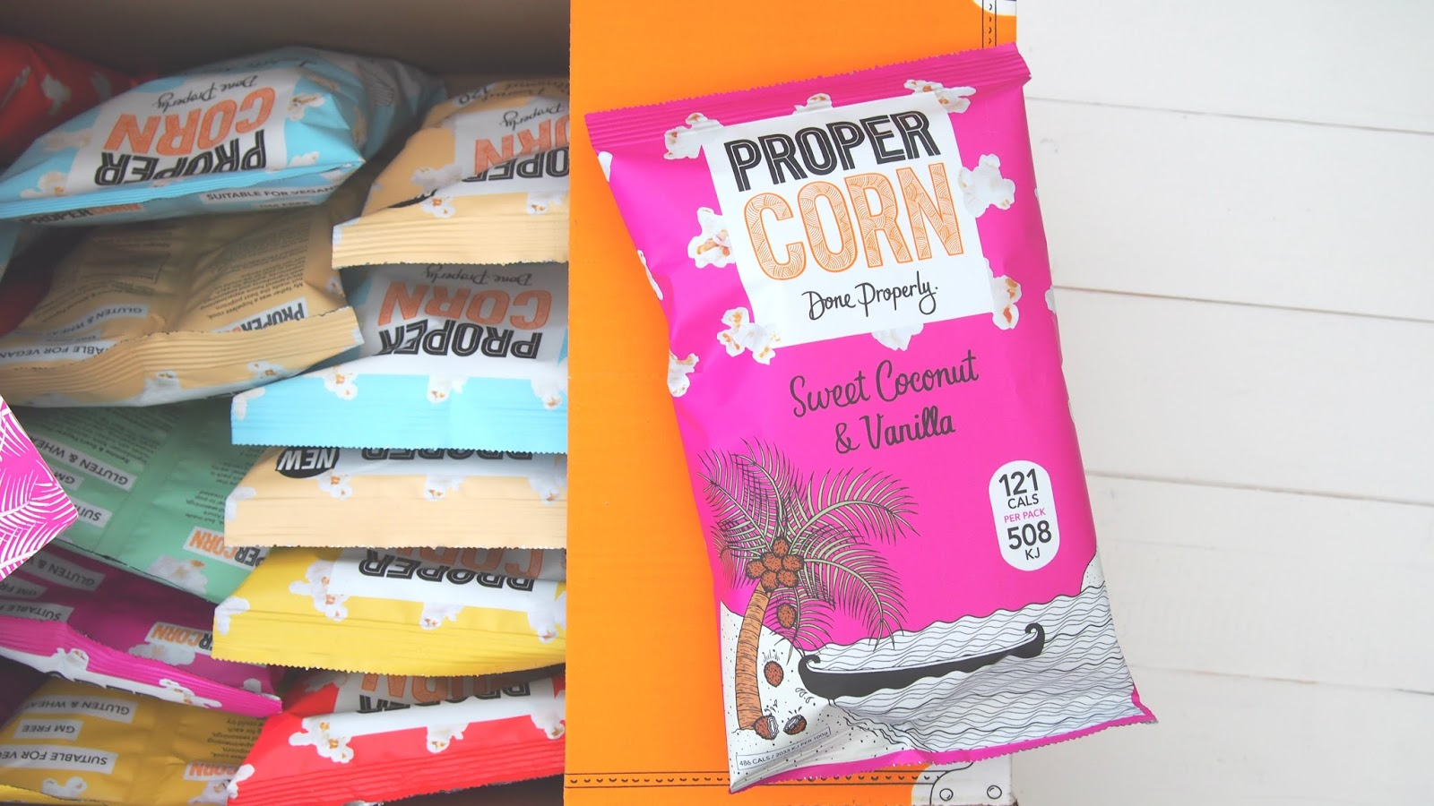 Sweet Vanilla and Coconut PROPERCORN