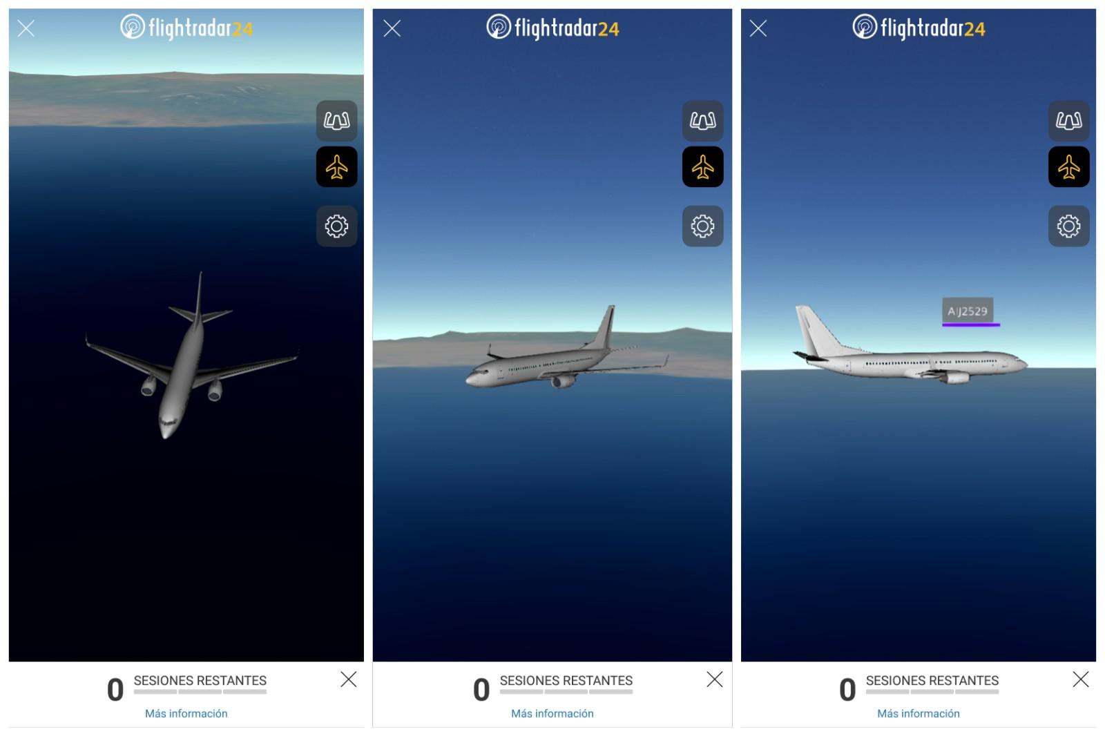 aplicacion para rastrear vuelos en tiempo real