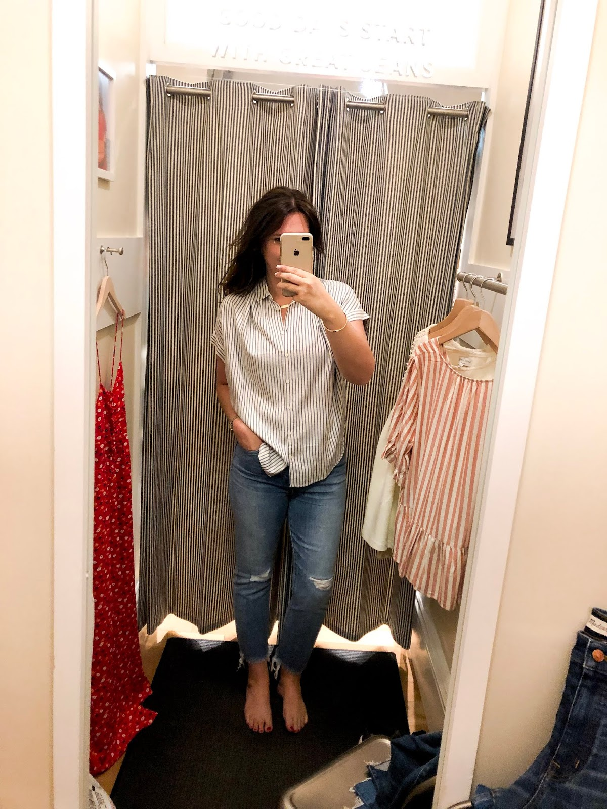 Spring Denim Try On