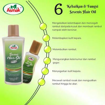 Sevenis Hair Oil Asmak 7 in 1