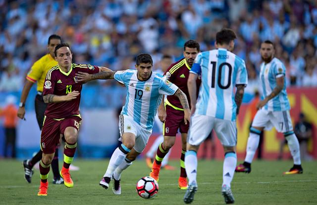 Argentina 4-1 Venezuela, Copa America