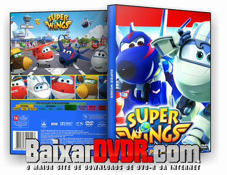 SUPER WINGS (2018) DVD-R AUTORADO