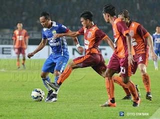 Atep Persib vs Borneo FC