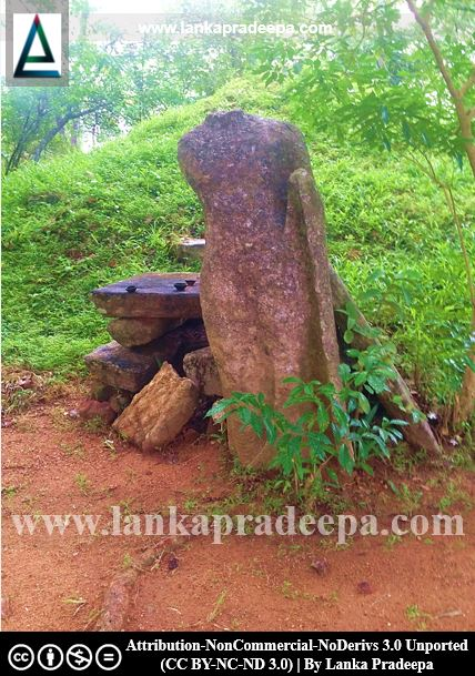 The headless Buddha statue at Padiyadora Viharaya