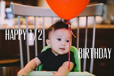 half birthday, birthday