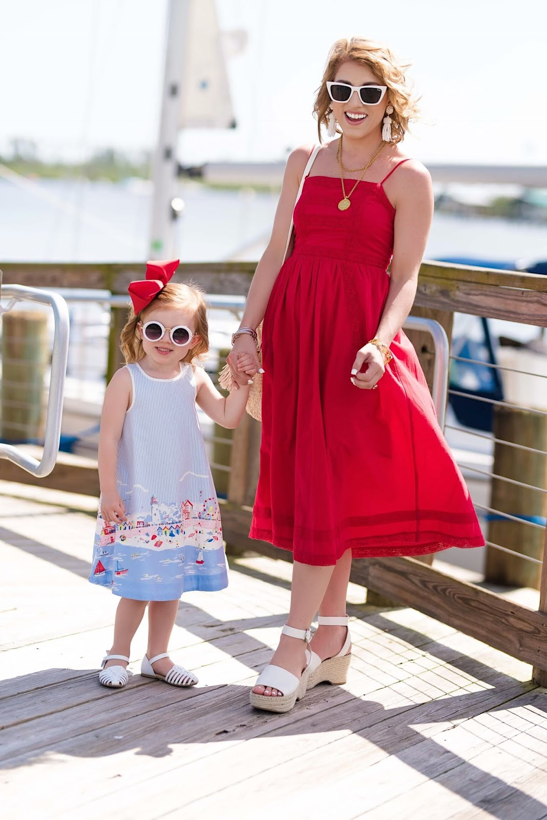 Mommy and Me Summer Style - Something Delightful Blog