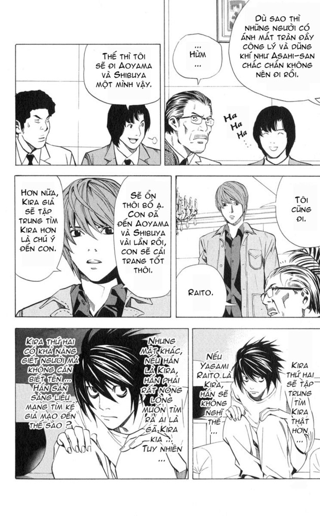 Death Note chapter 028 trang 10