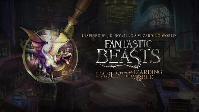Anunciado el juego de móvil Animales Fantásticos: Casos del mundo mágico para noviembre
