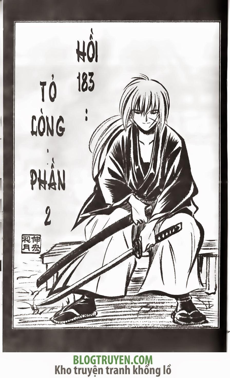 Rurouni Kenshin chap 183 trang 2