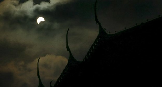 Gerhana matahari sebagian akan landa Pulau Jawa dan Sumatera pada 1 September