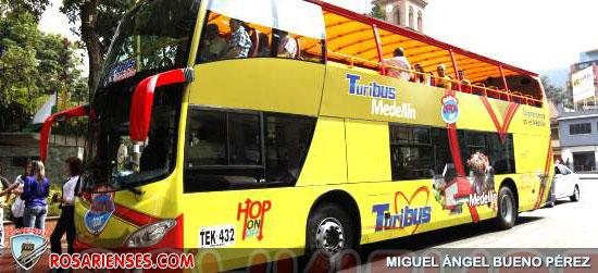 Turistiar por Medellín, ahora en bus de dos pisos | Rosarienses, Villa del Rosario