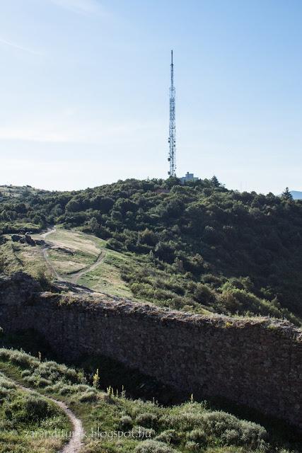 Távközlési torony -Világos vára melletti csúcson