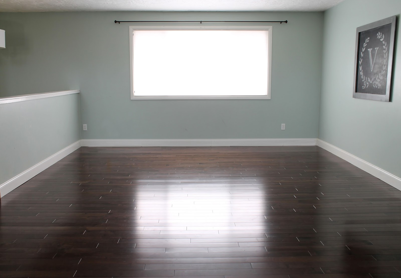 Paint Colors For Dark Wood Floors The Perfect Blue Green Gray Paint Color Thecraftpatchblog