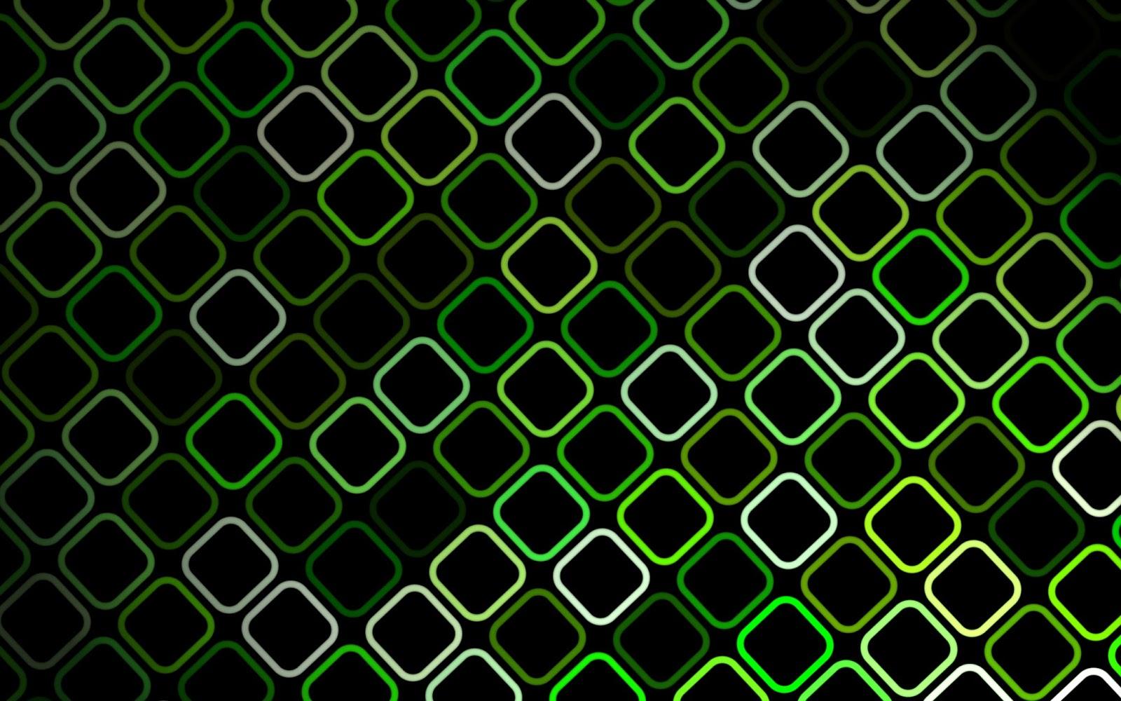 Verde Con Negro Wallpaper HD