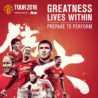 Tur Pra Musim Manchester United Musim 2016/2017