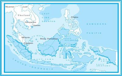 Ekosistem Daerah Pantai atau Pesisir yang Terdiri dari Hutan Mangrove, Terumbu Karang, Rumput Laut, dan Padang Lamun di Indonesia