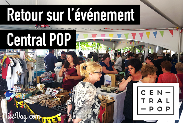 Central POP Drummondville expo-vente artisans