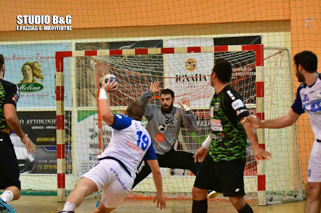 Μεγάλη ανατροπή στον πρώτο αγωνα των πλέι οφ της Handball Premier - Έχασε ο Διομήδης από τον ΑΣΕ Δούκα