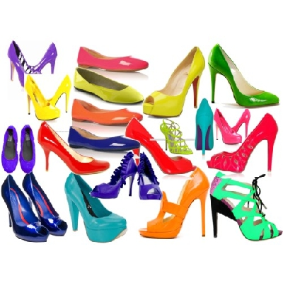 neon renkli ayakkabı modelleri
