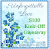 Unforgettable Love | $100 Kick-Off Giveaway