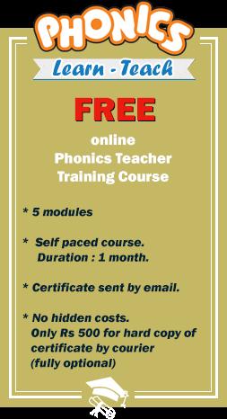 phonics phonics teacher training course free online certificate