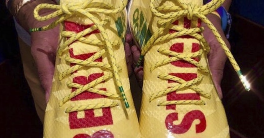43a870cde96 EffortlesslyFly.com - Online Footwear Platform for the Culture  First Look   Pharrell x adidas AM4MN Football Cleat Custom