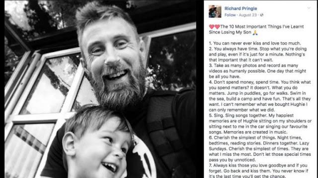 Kehilangan Anak yang Masih 3 Tahun, Kisah Ayah ini Akan Membuka Mata Anda Lebar-lebar