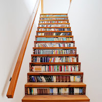 ideas de bibliotecas debajo de las escaleras