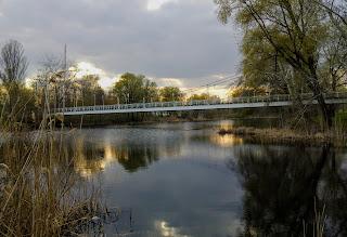 Миргород. Міст через річку Хорол