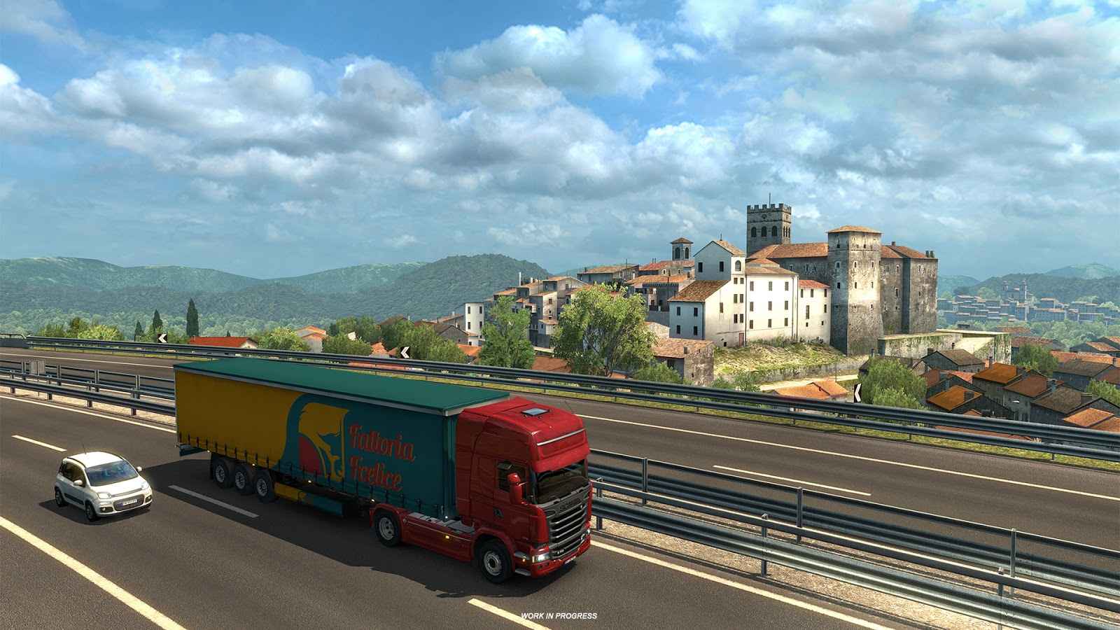 euro truck simulator demo jouable