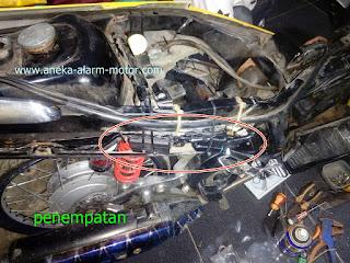 Cara pasang alarm motor Nouvo Lokal