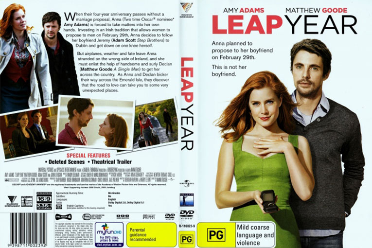Leap Year (2010) 720p BrRip [Dual Audio] [Hindi+English]