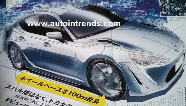 Car Uk New Toyota Plans 4 Door Rwd Sedan Version Of Ft 86 Gt 86