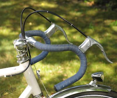 Peugeot Tandem, Mafac brake lever, B&M EYC