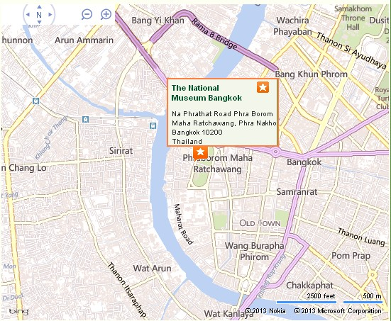 Bangkok National Museum Location Map,Location Map of Bangkok National Museum,National Museum Bangkok Accommodation Destinations Attractions Hotels Map Photos Pictures,siriraj hospital royal barge thai national science museum volunteers bangkok art