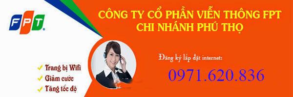 Lắp Đặt Internet FPT Thị Xã Phú Thọ