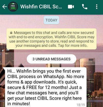 Wishfin-CIBIL-Score-whatsapp