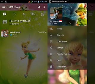 Download BBM MOD Tinkerbell Base  v 2.13.0.26 APK By Trangga Ken Gratis