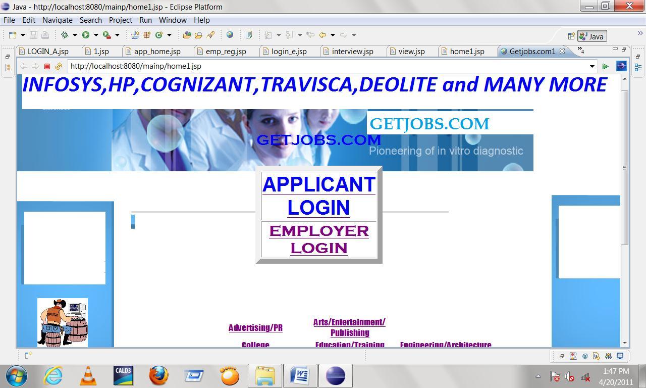 online job portal java project  online job portal java project