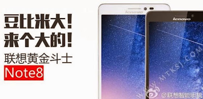 Harga Lenovo Golden Warrior Note 8