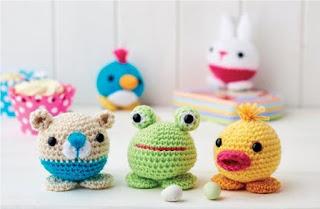 Amigurumi Animals To Make : Free amigurumi patterns cute little animals easy to make
