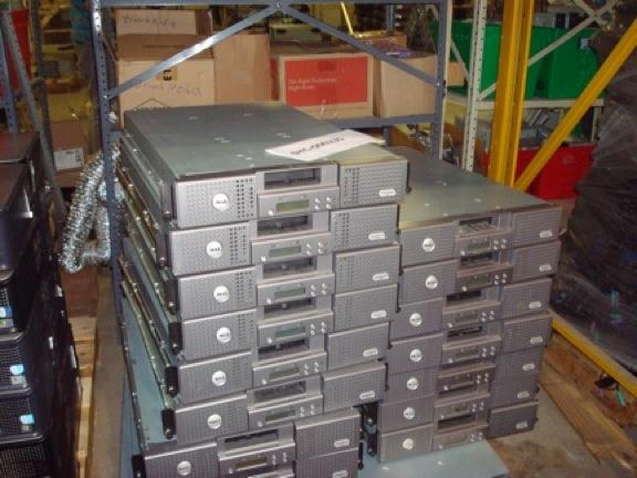 Lots of Laptops: Poweredge Servers - Cheap Lot Price