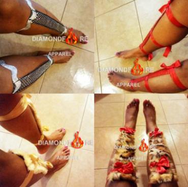 #barefootsandals #leg jewelry #fashionaccessories #handmade