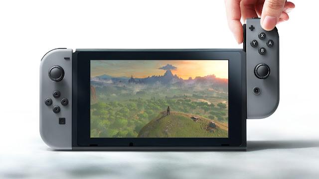 Nintendo Switch está diseñada con tecnología Nvidia 1